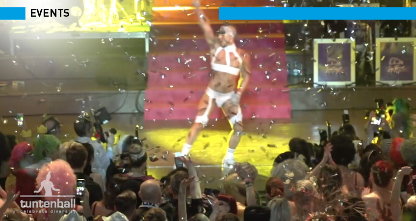 TUNTENBALL Graz 2017 - TV Reportage etc. von Groox