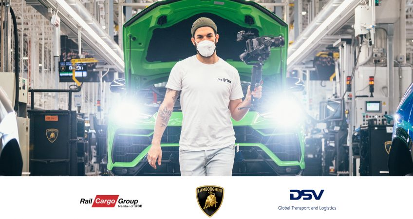 Lamborghini groox Rail Cargo DSV